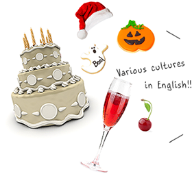 Various cultures in English!!